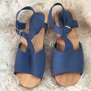 Zara Girls Leather Sandal
